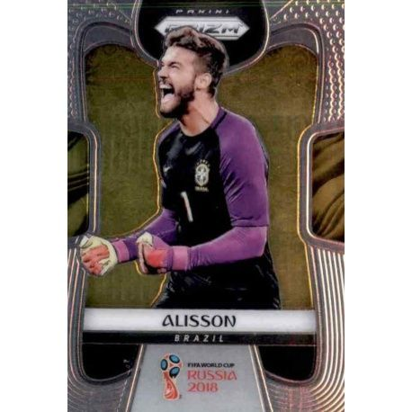 Alisson Brazil 37 Prizm World Cup 2018