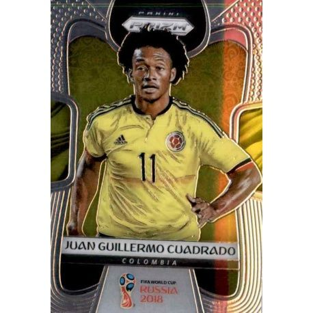Juan Guillermo Cuadrado Colombia 42 Prizm World Cup 2018