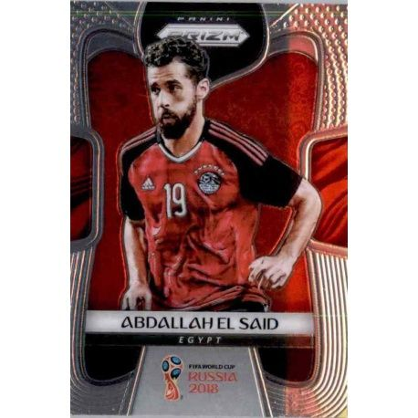 Abdallah El Said Egypt 55 Prizm World Cup 2018