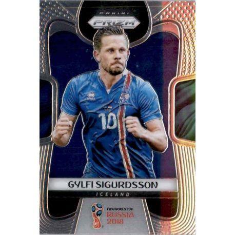 Gylfi Sigurdsson Iceland 100 Prizm World Cup 2018