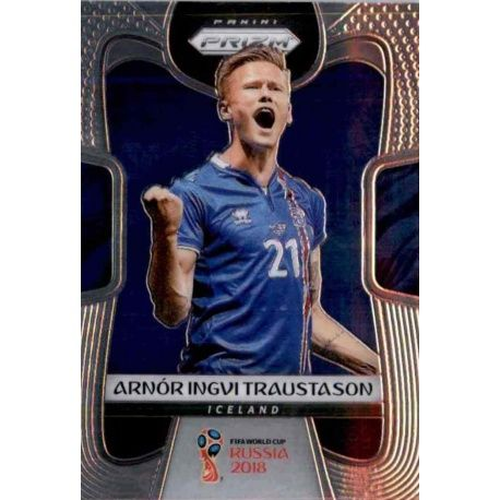 Arnor Ingvi Traustason Iceland 102 Prizm World Cup 2018