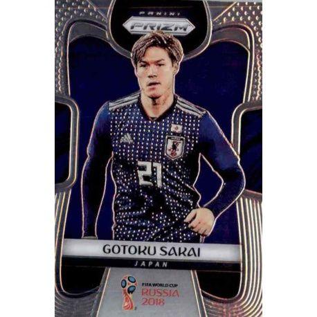 Gotoku Sakai Japan 124 Prizm World Cup 2018