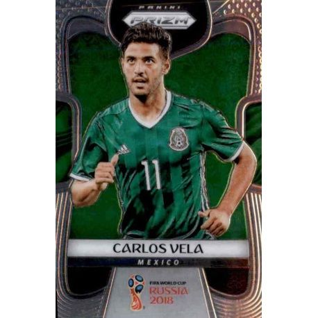 Carlos Vela Mexico 129 Prizm World Cup 2018