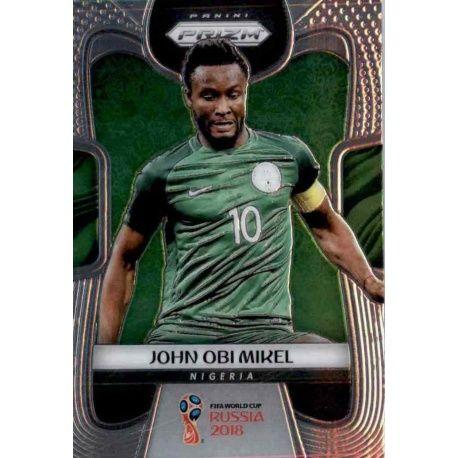 John Obi Mikel Nigeria 138 Prizm World Cup 2018