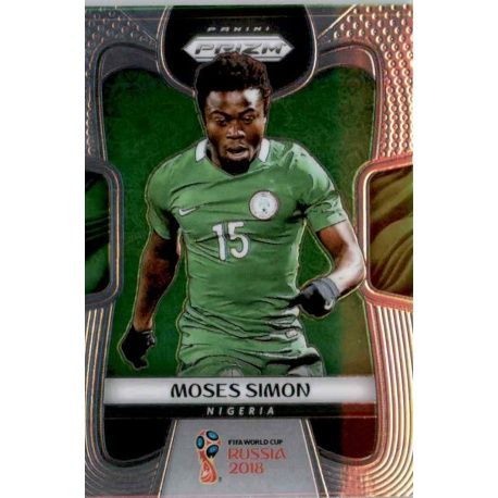 Moses Simon Nigeria 142 Prizm World Cup 2018