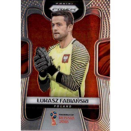 Lukasz Fabianski Poland 153 Prizm World Cup 2018