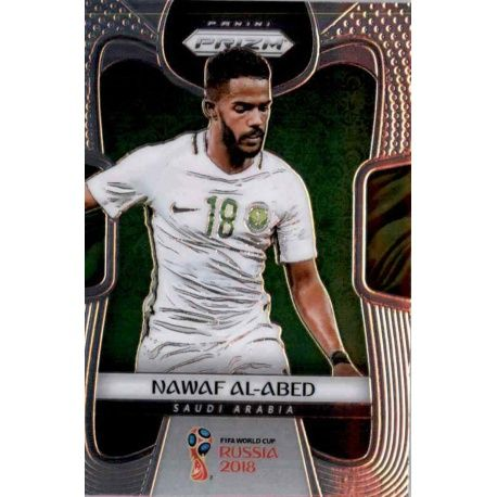 online store 041b4 86f7c Sale Trading Card Nawaf Al-Abed Panini Prizm World Cup