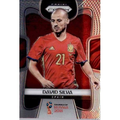 David Silva Spain 201 Prizm World Cup 2018