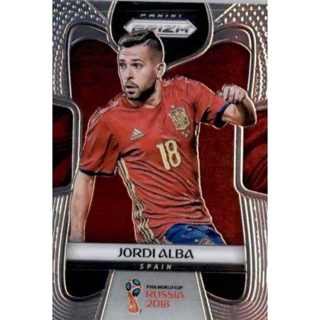 Jordi Alba Spain 203 Prizm World Cup 2018