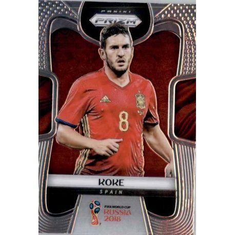 Koke Spain 204 Prizm World Cup 2018
