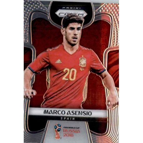 Marco Asensio Spain 205 Prizm World Cup 2018