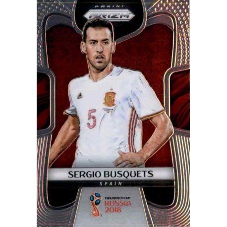 Sergio Busquets Spain 207 Prizm World Cup 2018