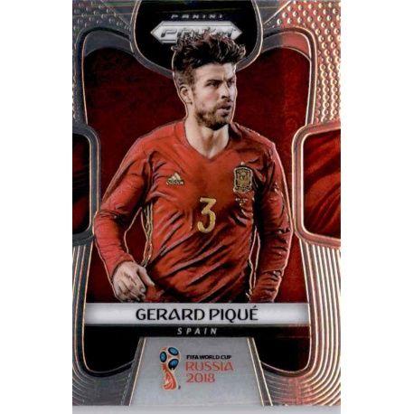 Gerard Pique Spain 208 Prizm World Cup 2018