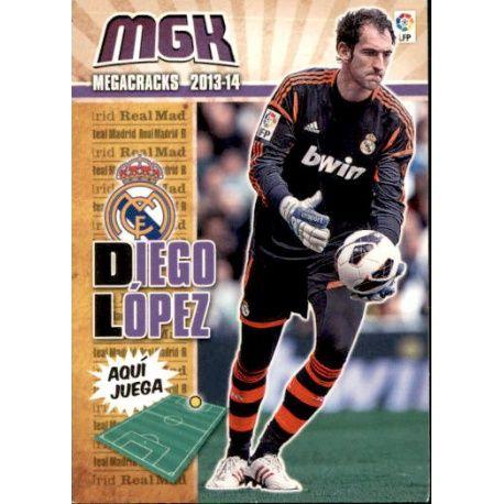 Diego López Real Madrid 201 Megacracks 2013-14