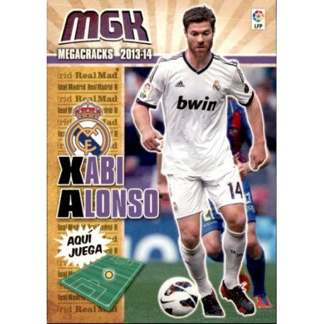 Xabi Alonso Real Madrid 208 Megacracks 2013-14
