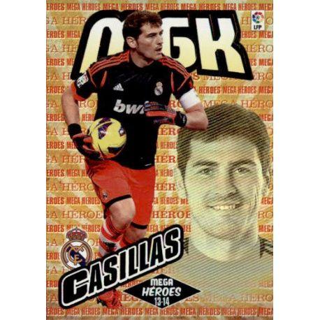 Casillas Mega Héroes Real Madrid 363 Megacracks 2013-14
