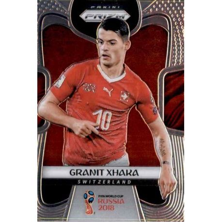 Granit Xhaka Switzerland 243 Prizm World Cup 2018