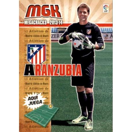 Aranzubia Nuevos Fichajes Atlético Madrid 493 Megacracks 2013-14