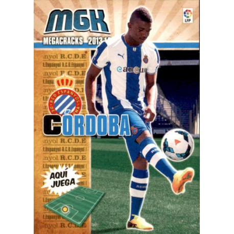 Córdoba Nuevos Fichajes Espanyol 503 Megacracks 2013-14