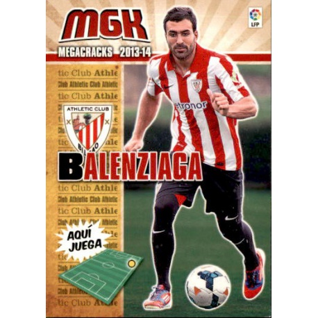 Balenziaga Fichas Bis Athletic Club 26 Bis Megacracks 2013-14