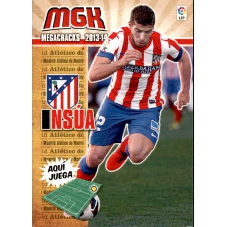 Insúa Fichas Bis Atlético Madrid 40 Bis Megacracks 2013-14