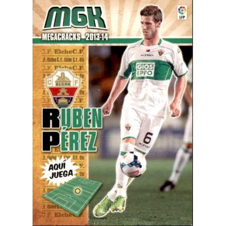 Rubén Pérez Fichas Bis Elche 120 Bis Megacracks 2013-14