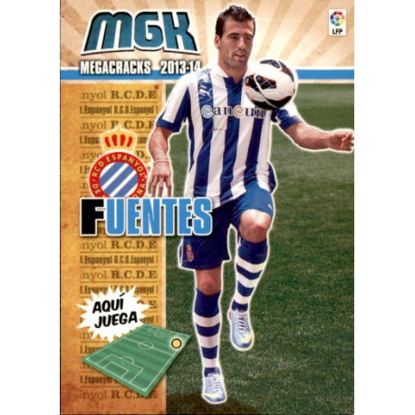 Fuentes Fichas Bis Espanyol 130 Bis Megacracks 2013-14