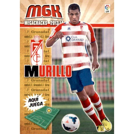 Murillo Fichas Bis Granada 167 Bis Megacracks 2013-14