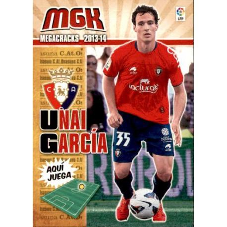 Unai García Fichas Bis Osasuna 242 Bis Megacracks 2013-14