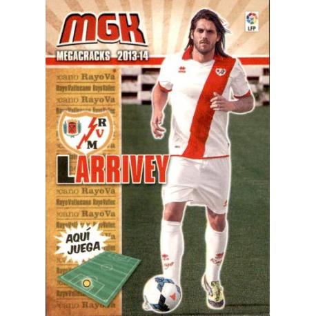 Larrivey Fichas Bis Rayo Vallecano 269 Bis Megacracks 2013-14