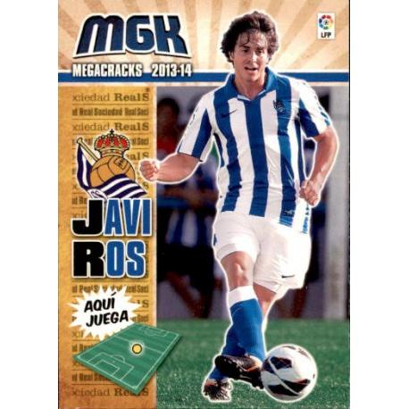 Javi Ros Fichas Bis Real Sociedad 280 Bis Megacracks 2013-14