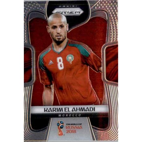 Karim El Ahmadi Morocco 250 Prizm World Cup 2018