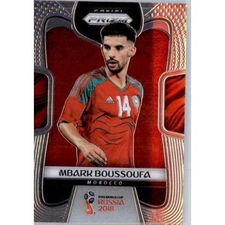 Mbark Boussoufa Morocco 251 Prizm World Cup 2018