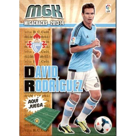 David Rodríguez Fichas Bis Celta 106 Bis Megacracks 2013-14