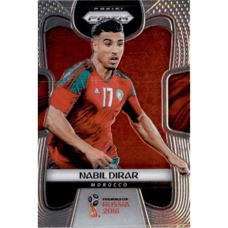 Nabil Dirar Morocco 253 Prizm World Cup 2018