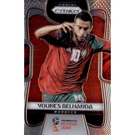 Younes Belhanda Morocco 256 Prizm World Cup 2018