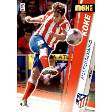 Koke Atlético Madrid 31 Megacracks 2012-13