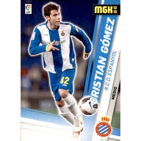 Cristian Gómez Espanyol 118 Megacracks 2012-13