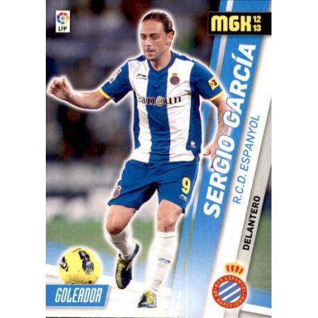 Sergio García Espanyol 126 Megacracks 2012-13