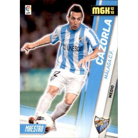 Cazorla Málaga 211 Megacracks 2012-13