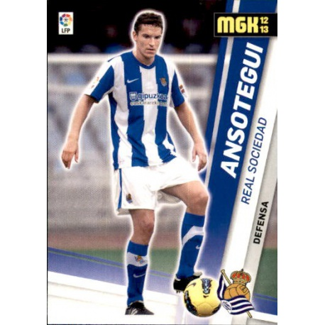 Ansotegui Real Sociedad 277 Megacracks 2012-13