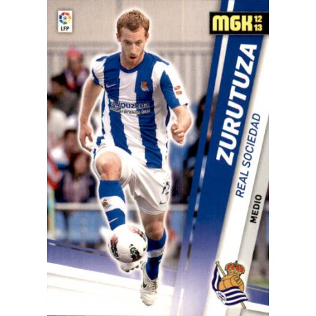 Zurutuza Real Sociedad 284 Megacracks 2012-13