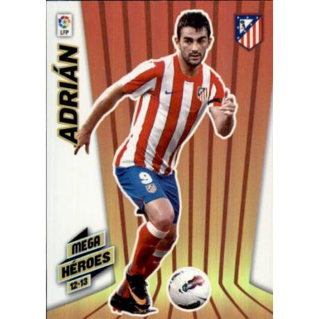 Adrián Mega Héroes Atlético Madrid 361 Megacracks 2012-13