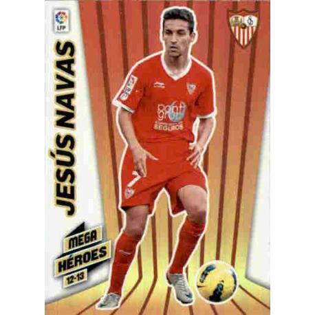 Jesús Navas Mega Héroes Sevilla 372 Megacracks 2012-13
