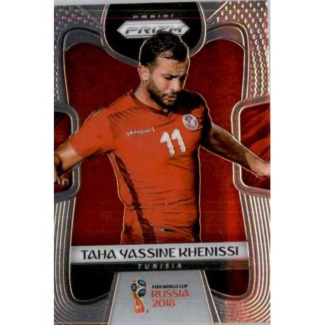 Taha Yassine Khenissi Tunisia 290 Prizm World Cup 2018