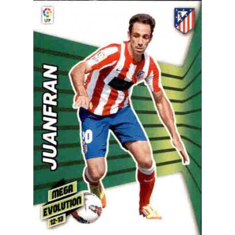 Juanfran Mega Evolution Atlético Madrid 400 Megacracks 2012-13