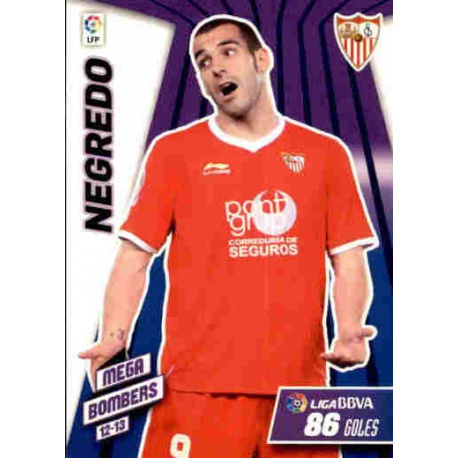 Negredo Mega Bombers Sevilla 416 Megacracks 2012-13