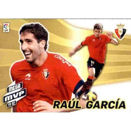 Raúl García Mega MVP 11-12 Osasuna 435 Megacracks 2012-13