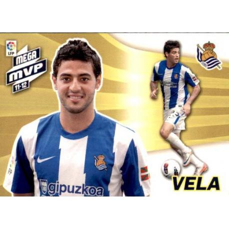 Vela Mega MVP 11-12 Real Sociedad 437 Megacracks 2012-13