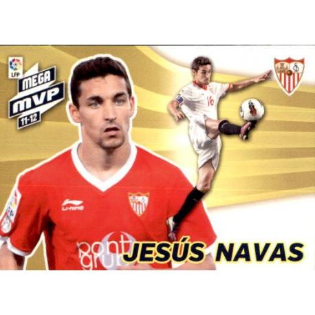 Jesús Navas Mega MVP 11-12 Sevilla 438 Megacracks 2012-13